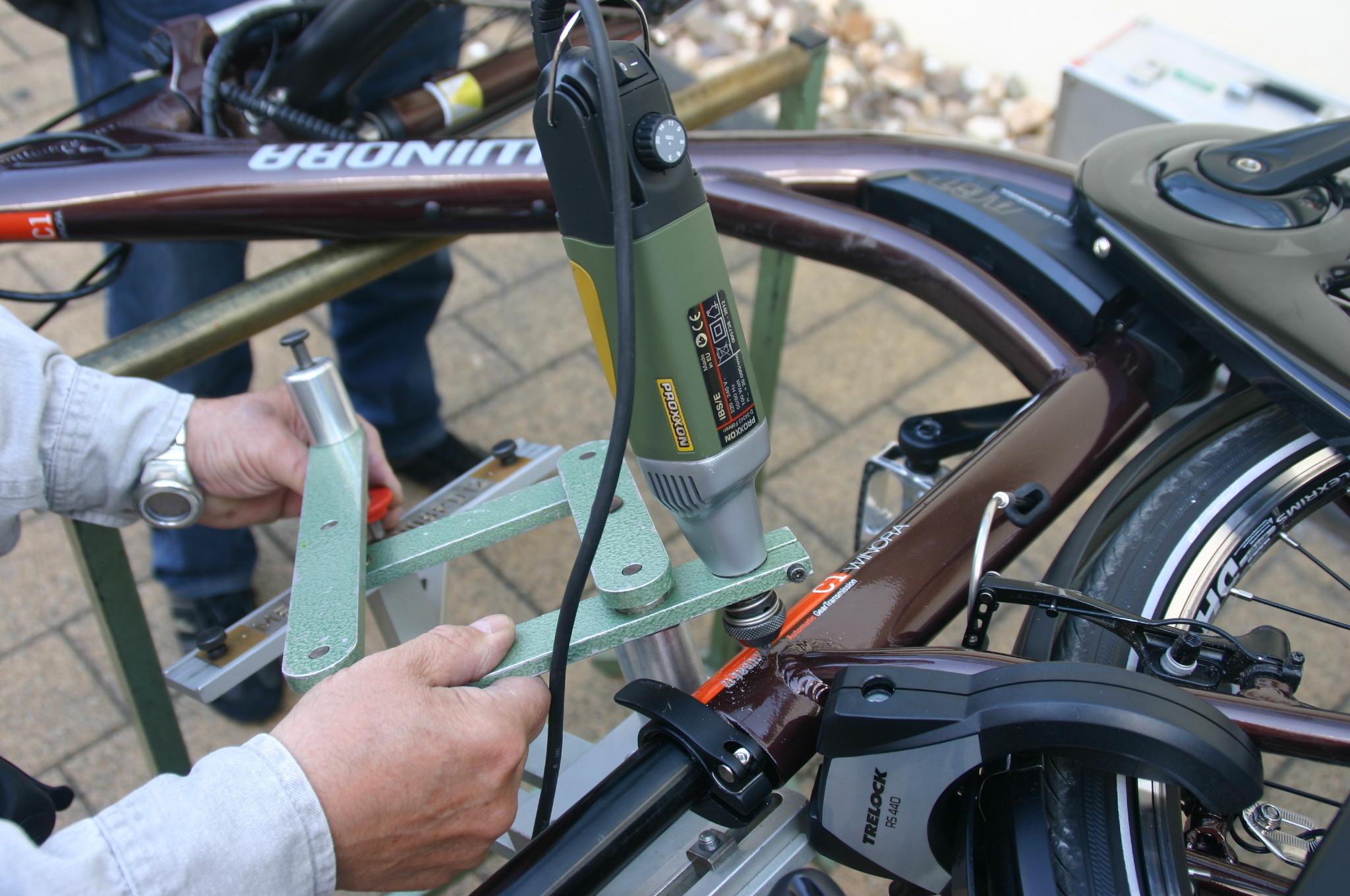 Ratingen Bäder fahrradcodieraktion gemeinsames angebot der ratinger bäder